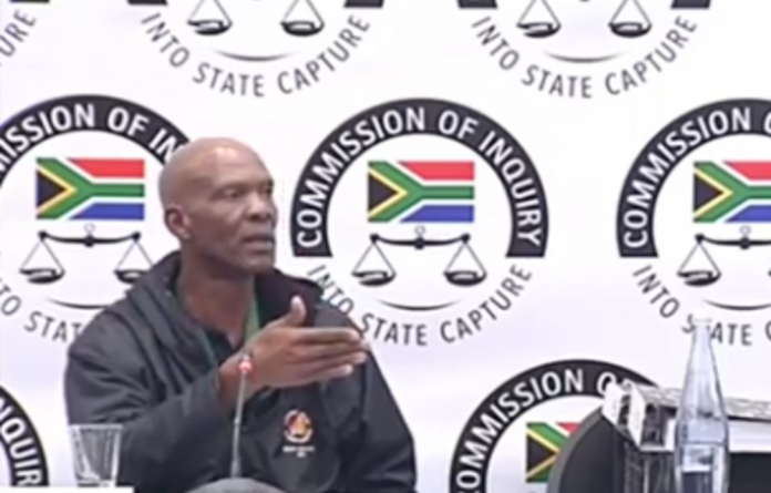 Ephraim Dhlamini was applauded for appearing before the commission