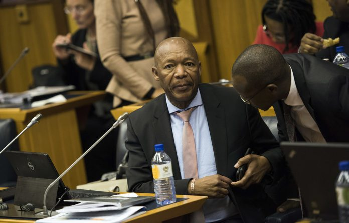 """Matjila recounted how he had received a request from a """"top politician"""" from the ANC to assist in funding the party's January 8 celebrations in 2016."""