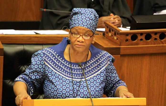 National Assembly speaker Thandi Modise will appear at Potchefstroom regional court in October.