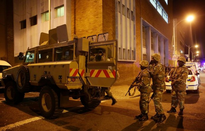 Recent history proves that when the military are deployed to do community level policing the results are ugly