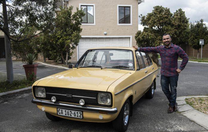Beloved: Brett Kannemeyer likes cars