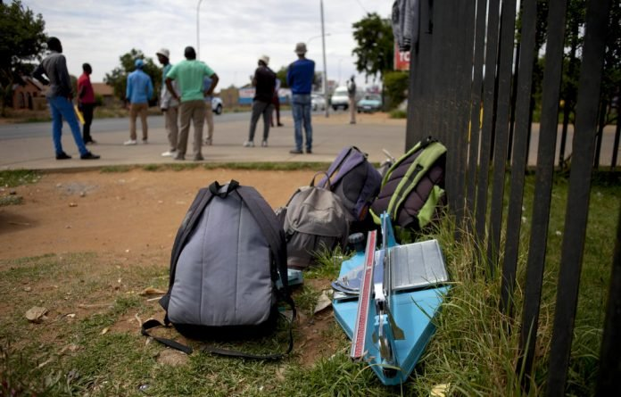 Jobless people must actively look for work to be counted as officially unemployed by StatsSA.