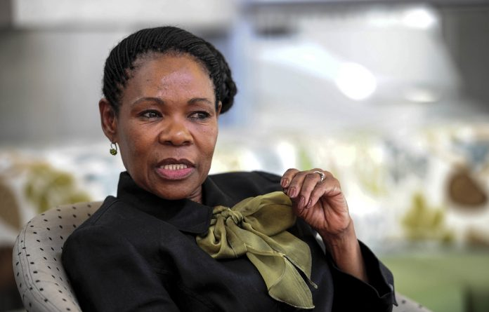 Call to action: Former judge Yvonne Mokgoro says society must prioritise women's rights.