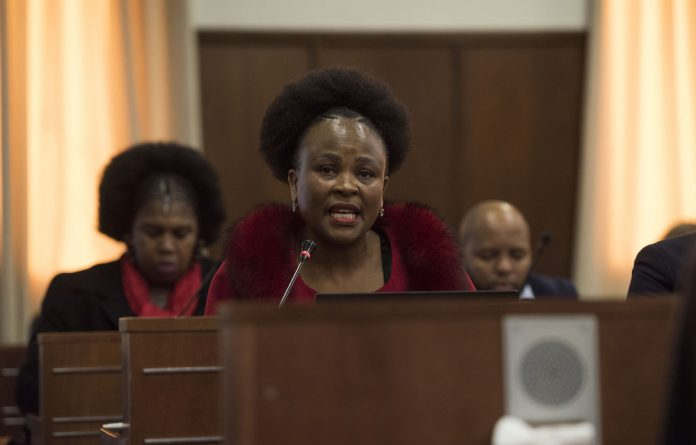 Communication breakdown: Public Protector Busisiwe Mkhwebane intended to subpoena both First National Bank and Absa but the one for FNB went to Absa.