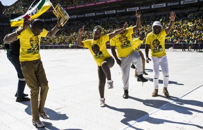 ANC Siyanqoba rally.