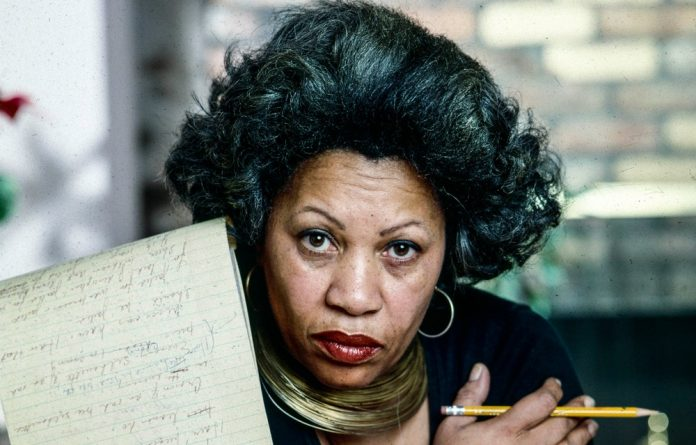 Daring: Toni Morrison chose to 'freely love Black lives with a searing