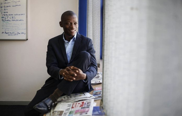 Divisive figure: Sunday Independent journalist and Forum for Journalists for Transformation founder Piet Rampedi says his organisation supports the formation of a media bargaining council.