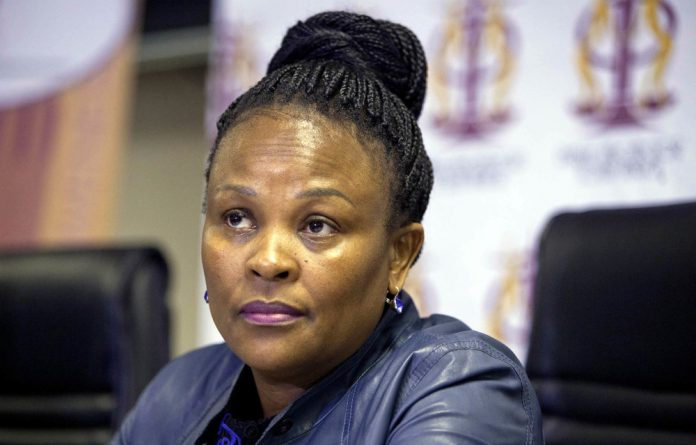 Appealing: Public protector Busisiwe Mkhwebane wants former land minister Gugile Nkwinti to face the music for violating the executive ethics code and the Constitution.