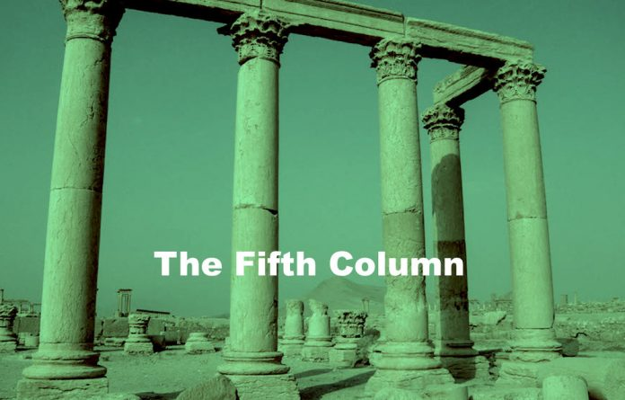 The fifth column.