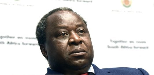Light bulb: Finance Minister Tito Mboweni has a plan to fix Eskom without people losing their jobs.