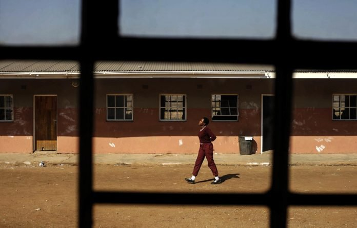 Chaos: Sahlumbe High School had a matric pass rate of 96.3% in 2002 but it steadily declined to 32.6% in 2018
