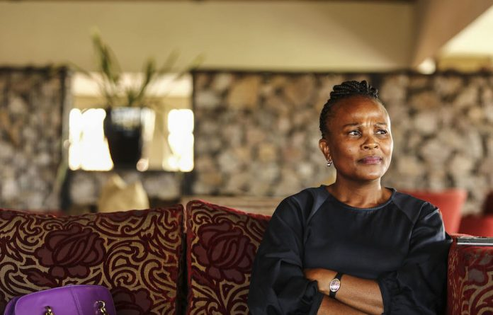 Busisiwe Mkhwebane's attorneys said they were not bound by Ramaphosa's request that portions of the court record be sealed.
