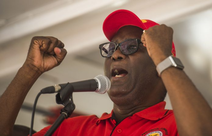 Zwelinzima Vavi also warned of the implications to the recent amendments to the LRA