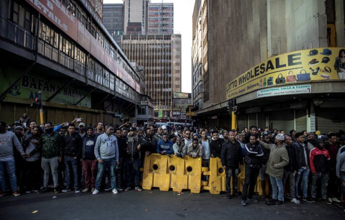 The immigration debate in South Africa is framed around whether foreigners can benefit the economy.