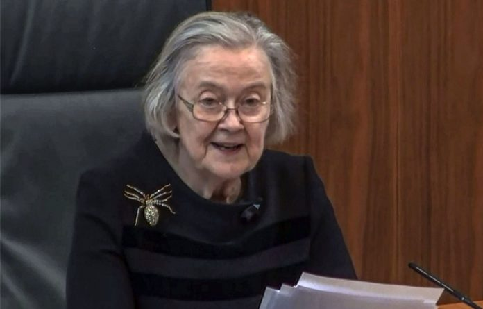 Spider-Woman: Lady Brenda Hale delivered a damning verdict against Boris Johnson