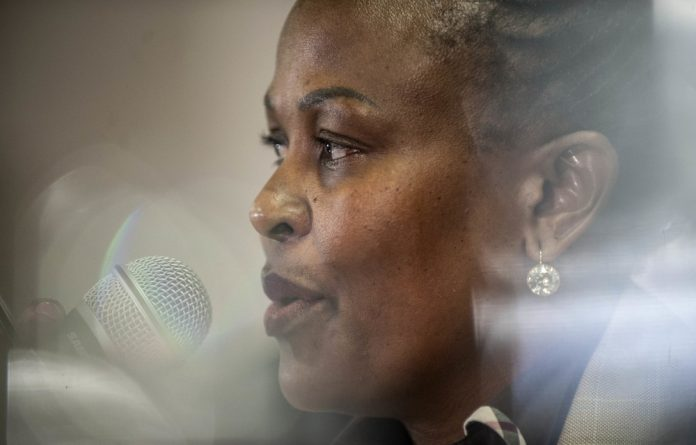 Fighting: Busisiwe Mkhwebane has recently experienced a string of losses in highly politicised court cases.