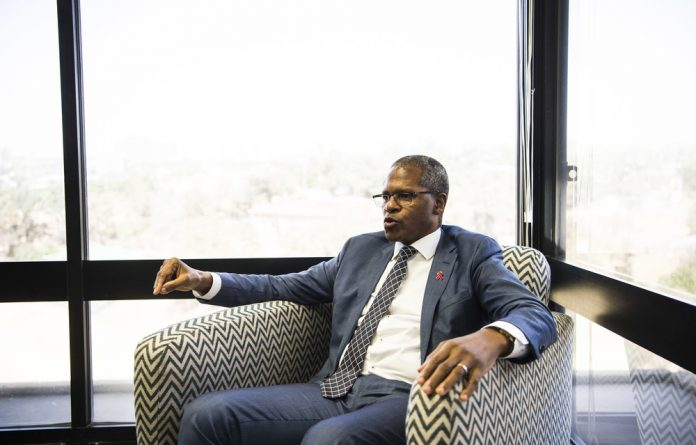 Gravitas: Velenkosini Hlabisa brings his experience to his new post as leader of the Inkatha Freedom Party.