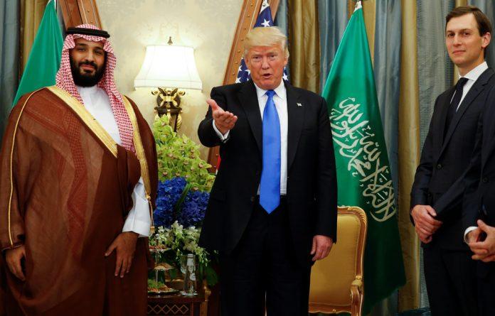 Following a phone call between DOnald Trump and Prince Mohammed bin Salman