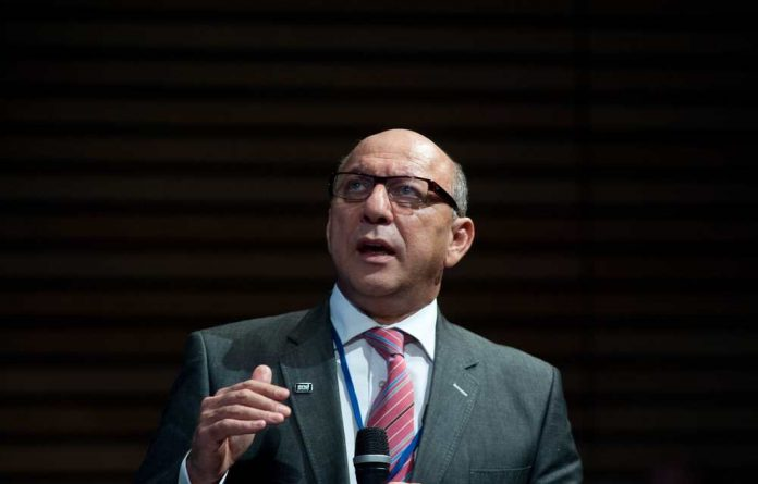 Old Mutual board chairperson Trevor Manuel has some conditions for twice-fired CEO Peter Moyo if he plans to go to the company's offices.