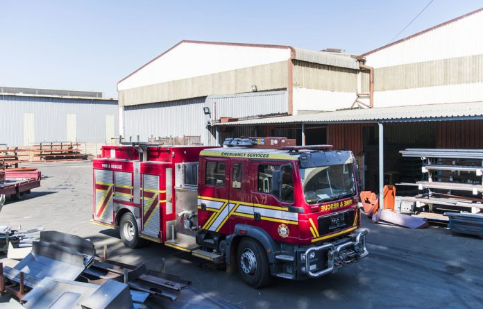 Red light: TFM was awarded a fleet contract for the city's fire department through a deviation.