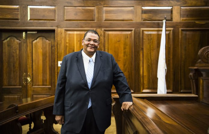 Fine pedigree: Newly appointed Constitutional Court Judge Stevan Majiedt. As an advocate at