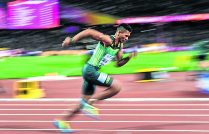 Van Niekerk became world champion in 2015 and retained the title two years ago before hurting his knee.