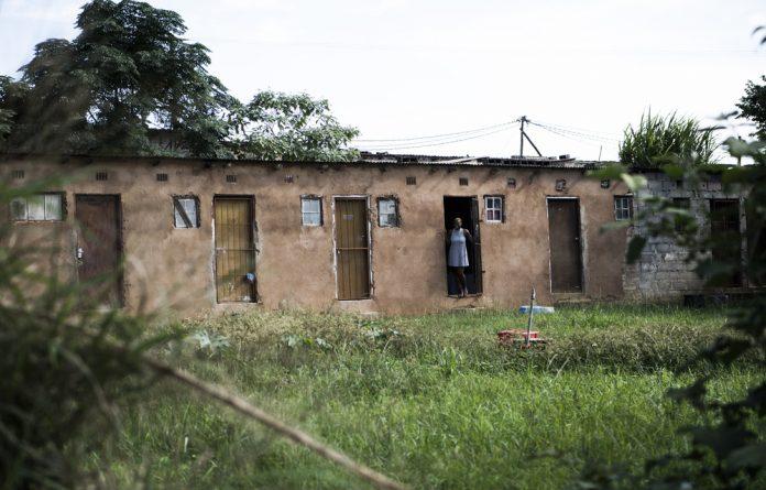 Defenceless: Students staying outside the University of Zululand say that amadabuka