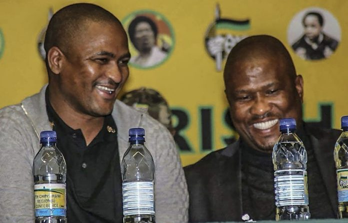 Partners in denial: Babalo Madikizela