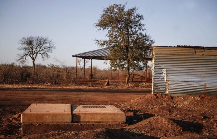 Drowning: It had rained in dry northern Limpopo and children were playing in water in an open trench dug as part of the Giyani Bulk Water Project. The trench has since been covered.