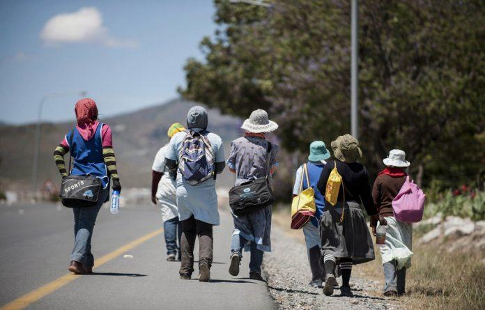 Vulnerable: Many women are seasonal workers