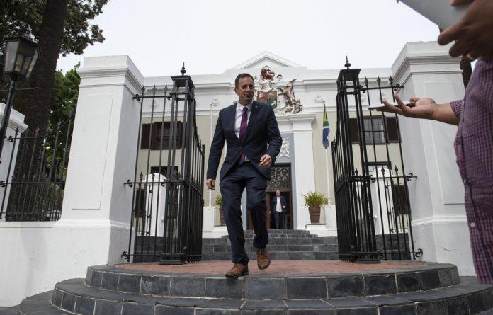 Interim DA leader John Steenhuisen is known as a procedural street fighter