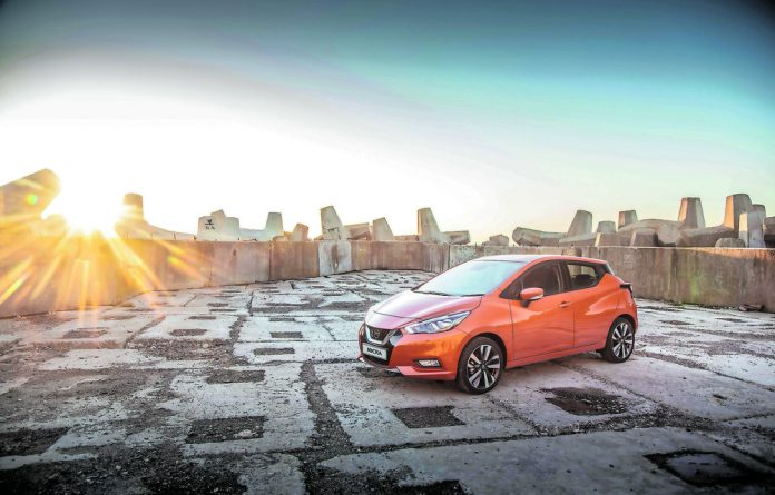 Classy: The new Nissan Micra is a balance of zip and sophistication