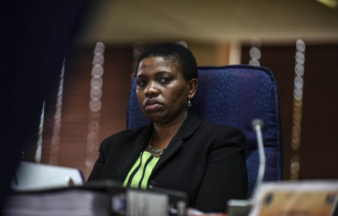 Former NDPP Nomgcobo Jiba was fired by President Cyril Ramaphosa in April.
