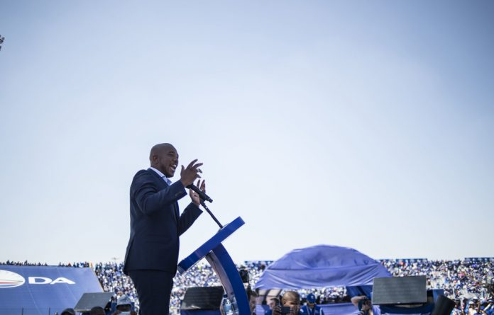 Under the whip: The latest movements in the party indicate that there are some who clearly want Democratic Alliance leader Mmusi Maimane