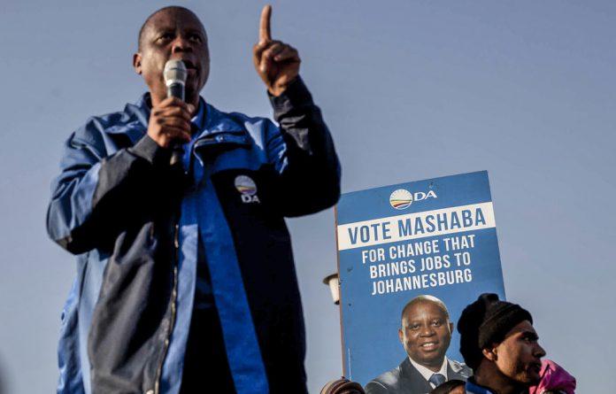 Johannesburg mayor Herman Mashaba has resigned from his post.