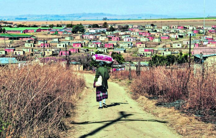 Patriarchal norms force South African women into positions where they shoulder the burden of domestic labour
