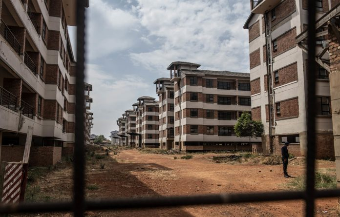 Abandoned: The construction of 336 flats at Wilge