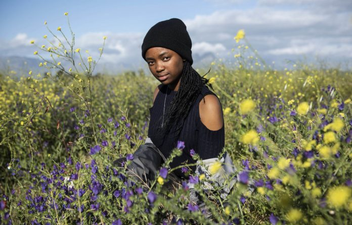 Wilting: Ayakha Melithafa imagines a future of no flowers – unless those in power act now and reduce carbon emissions to prevent temperatures from rising even further.