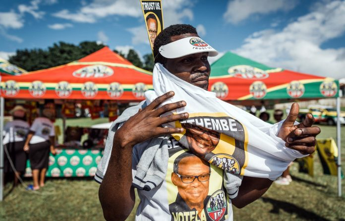 Courted: The ANC aims to break coalitions the IFP formed with the DA and EFF.