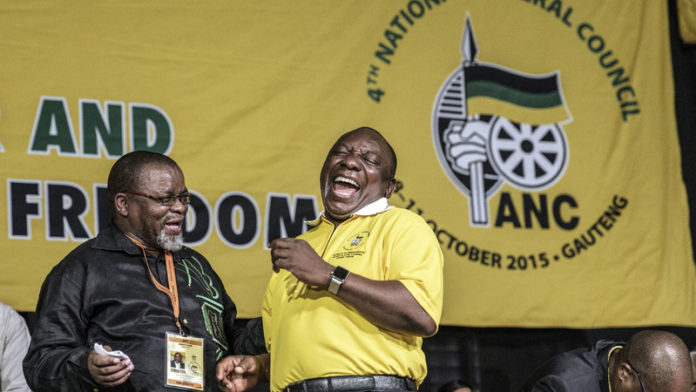 ANC plays a game of dodgeball