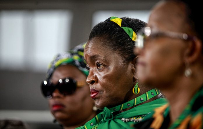 Qualified: Bathabile Dlamini oversaw the social grants payment fiasco. Now she's in charge of the social housing authority.
