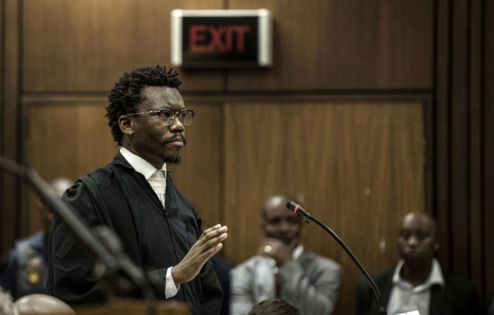 Play-off: Tembeka Ngcukaitobi scored when he used the public protector's own words — that she was 'playing a chess game'.