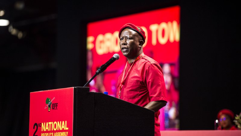 , EFF produces ambitious manifesto, promising land redistribution, The World Live Breaking News Coverage & Updates IN ENGLISH