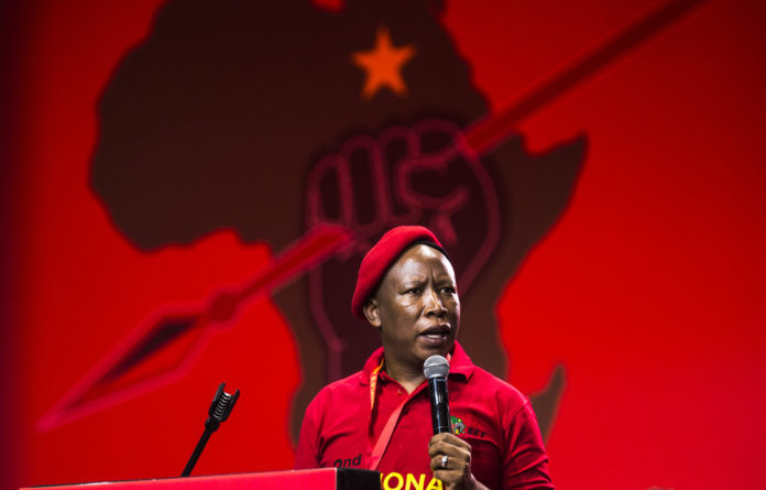 During a press briefing on the third day of the EFF's National People's Assembly