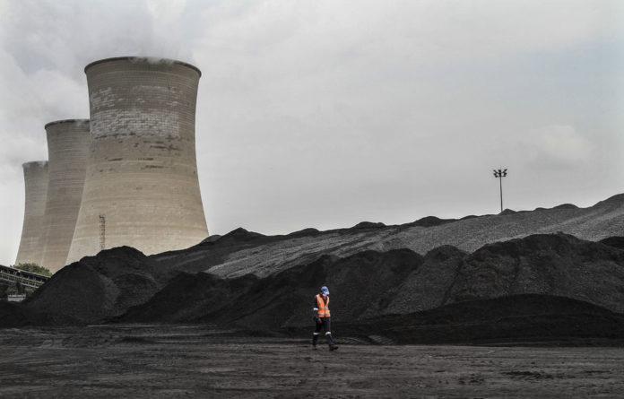 At the coalface: Eskom's Grootvlei power station. South32
