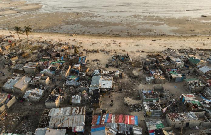 Cyclone Idai's devastation of Beira.