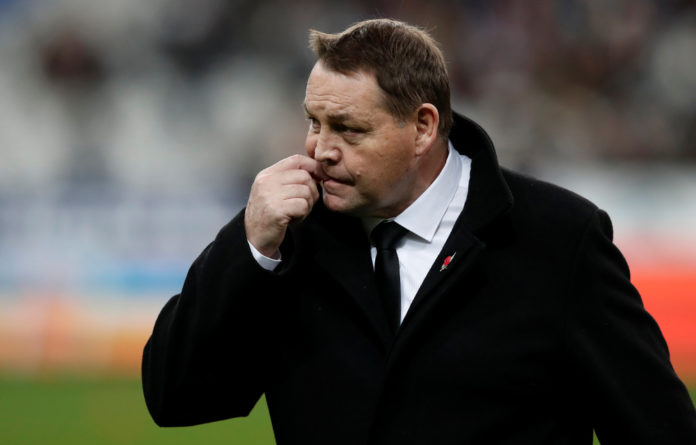 Steve Hansen's New Zealand side search for their third Rugby World Cup in a row. If they beat England on Saturday
