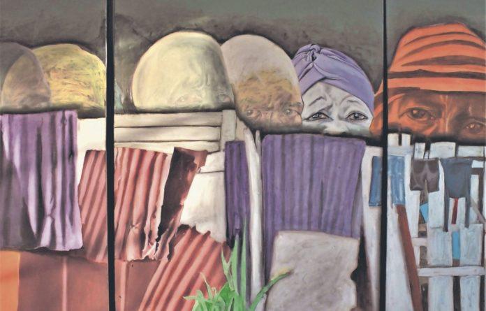 'We live here' by Mxolisi Dolla Sapeta.