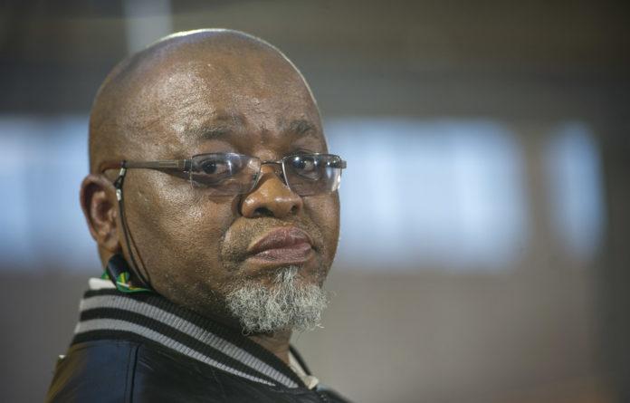 Hold the line: Minister Gwede Mantashe
