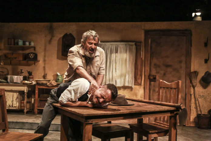 Victor Gordon's play 'Brothers' at The Market Theatre.